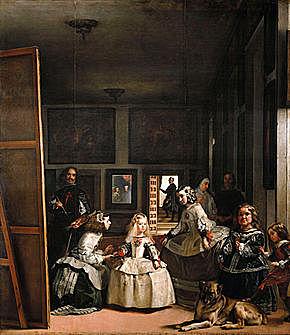 """Barroco español. Velázquez, """"Las Meninas"""" (1655)."""