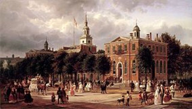 U.S. celebrates the bicentennial of the signing of the Declaration of Independence