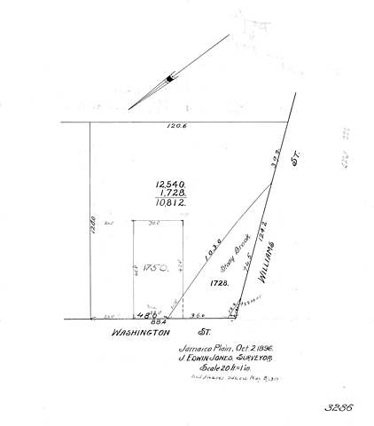 Doyle's Purchase Washington Street and Williams Street Property from Susanna Cary