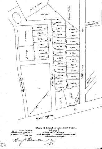 Patrick J Doyle Purchases Washington Street/ Garfield Street Parcel