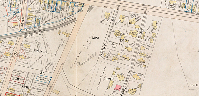 1896 Map of Doyle's Parcel
