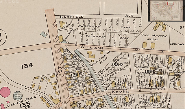 1899 Map of Doyle's Parcel
