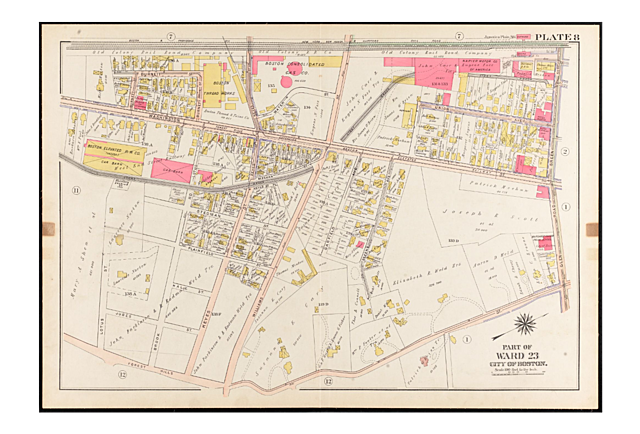 1905 Map of Doyle's Parcel