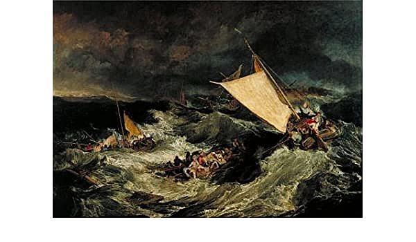 J.M.W. Turner: The Shipwreck