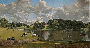 John Constable :Wivenhoe Park
