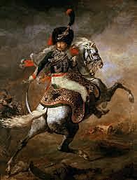 Théodore Géricault: Oficial de caçadors de la guàrdia imperial a la càrrega