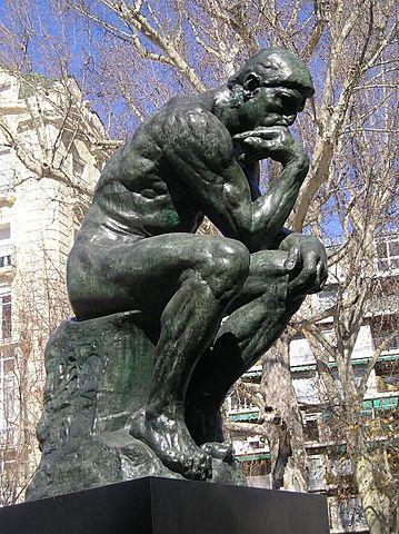 Auguste Rodin: El pensador