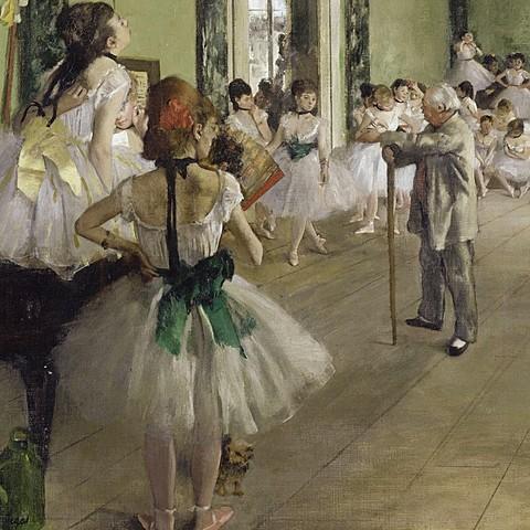 Edgar Degas: The ballet class