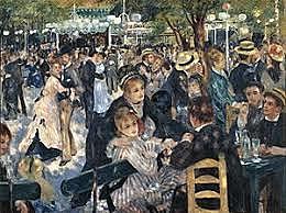 Pierre-Auguste Renoir: Baile en el Moulin de la Galette