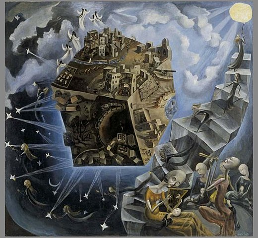 "Pintura Onírica. Ángeles Santos, ""Un mundo"" (1929)"