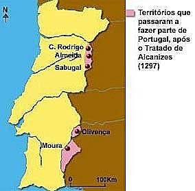 Tratado de Alcanizes (Alcañices en castellano)