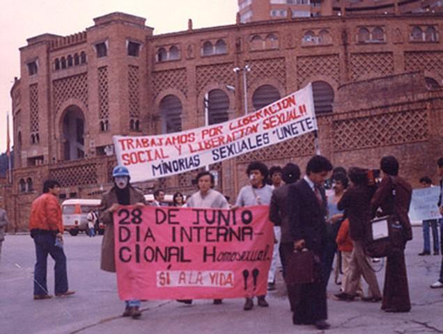 Movimiento de liberación homosexual en Colombia