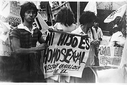 Primera marcha LGTBI en Colombia