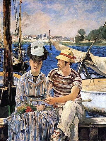 Édouard Manet: fragment de Argenteuil.