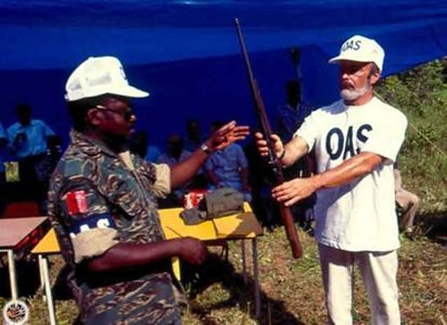 Suscripción de Acuerdo entre OEA y gobierno de SURINAM