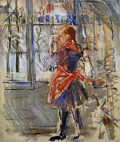 Berthe Morisot:  Child with a Red Apron