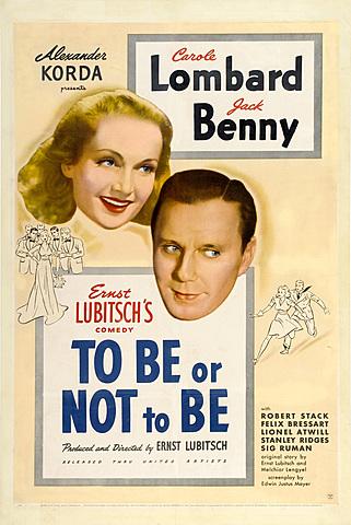 Lubitsch, Ser o no ser