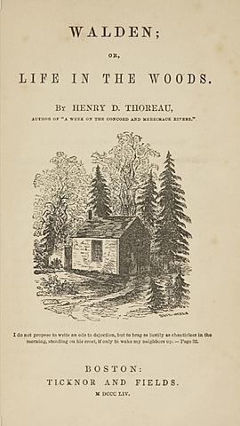 """""""Walden""""; H. D. Thoreau"""