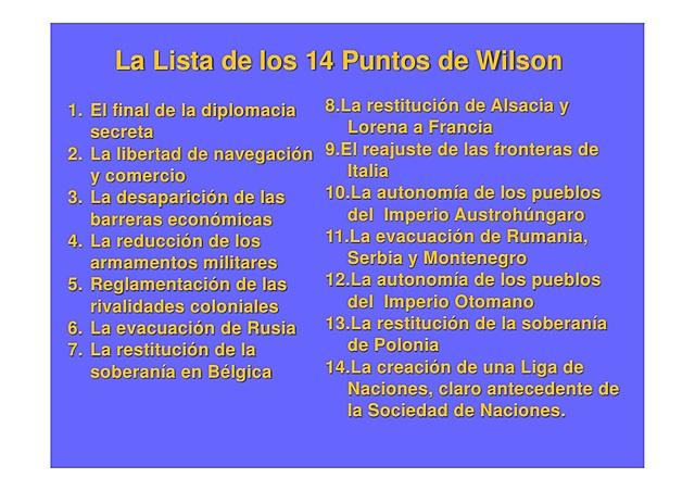 Catorce punts de Wilson