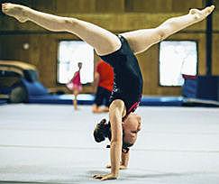 El meu primer dia de gimnastica