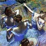 """""""The blue dancers"""" Degas"""
