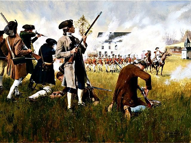 Lexington & Concord (Revolutionary War Begins)