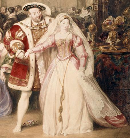 Henry/Anne Boleyn – marriage