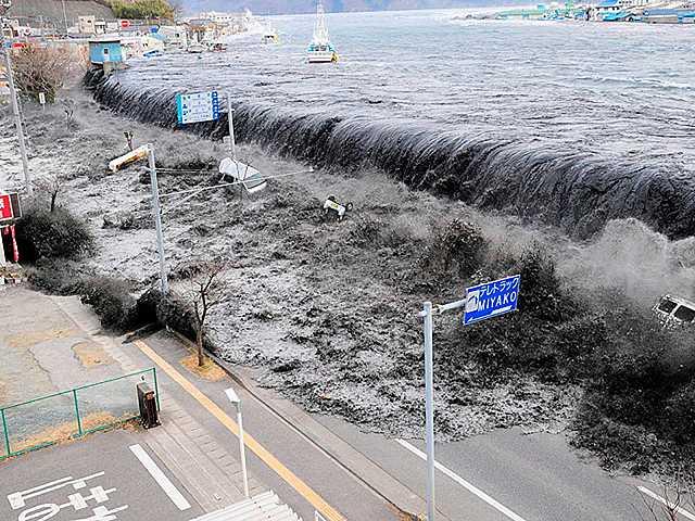 Fet climàtic-Tsunami de Japó
