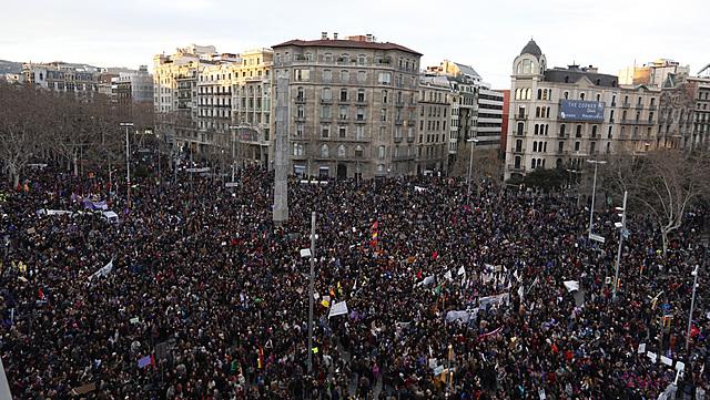 Fet social-Protestes del 15 de març
