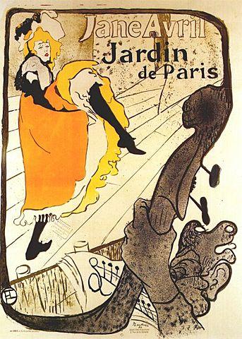 Toulouse Lautrec: Jane Avril