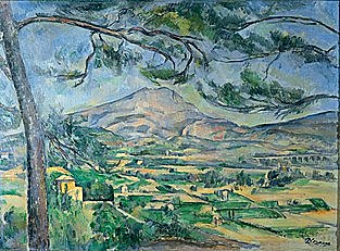 Paul Cézanne: Muntanya Sainte-Victoire