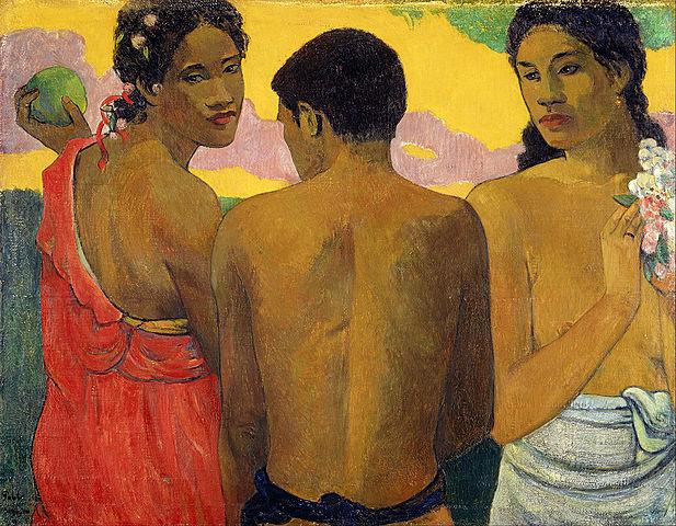 Paul Gauguin: Three Tahitians