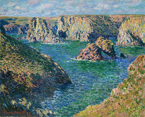 Claude Monet: Port Donnant, Belle Ile