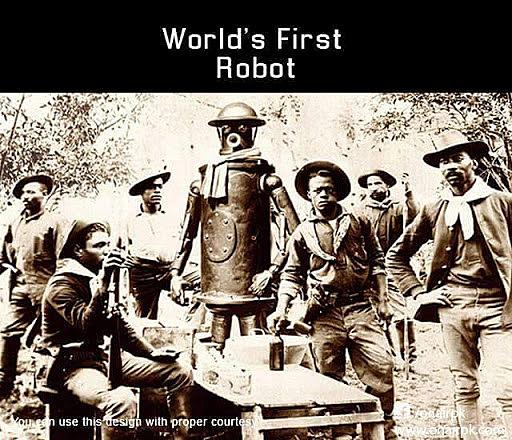 "Robot ""World First Ese mismo año el robot PROBOT"