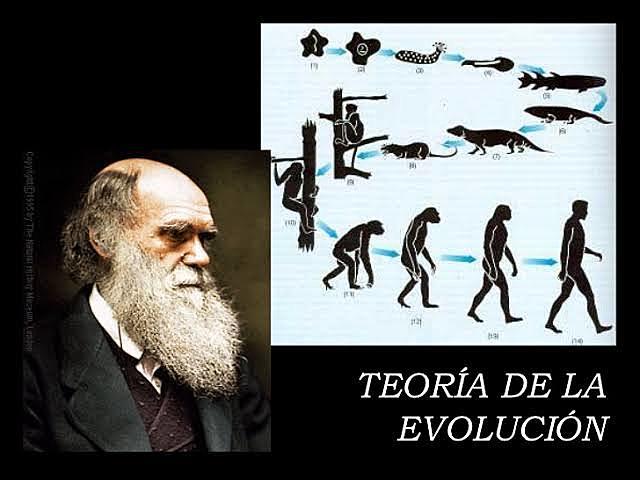 Jan 1, 1859 Teoria de la evolucion de Darwin