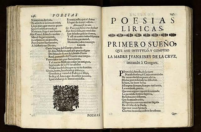 Sor Juana Inés y su obra.