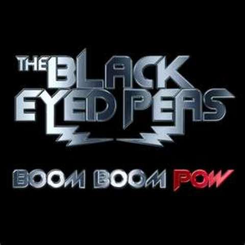 "Best pop song "" Boom Boom Pow"" by Black eyed Peas"