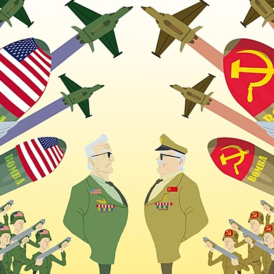 Eix cronològic de la guerra freda timeline