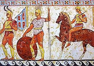 Roma avança per Etruria