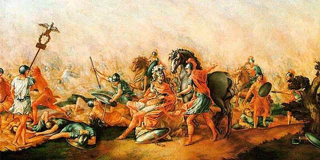 Derrota romana
