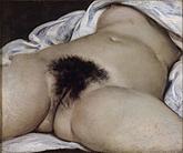 Gustave Courbet: El origen del mundo