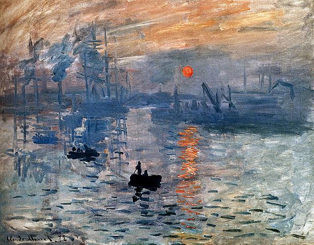 Impressionisme darrer quart  del sXIX: Sol ixent - Oscar-Claude Monet