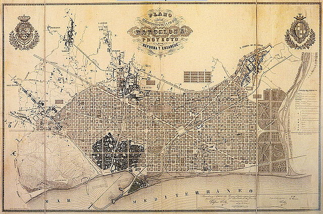 Pla  Cerdà 1860 -  Ildefonso Cerdá