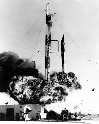 Failed Launch of of the Vanguard satellite
