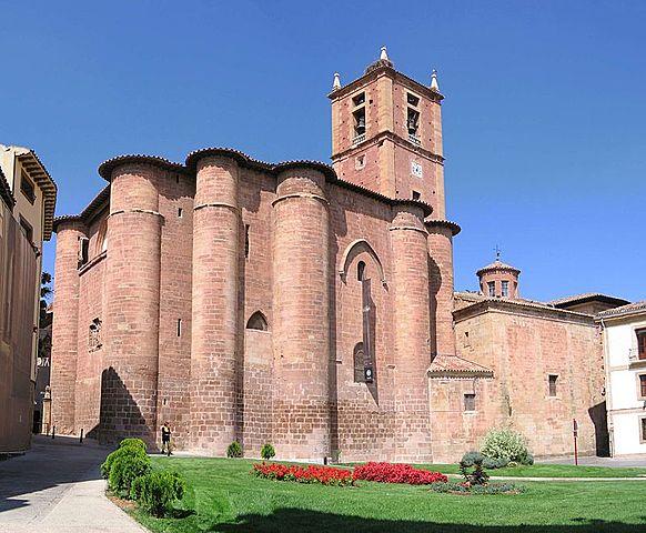Consagración del Monasterio de Santa María la Real de Nájera