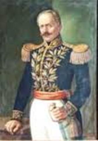 Presidente Electo  General José María Obando del Campo