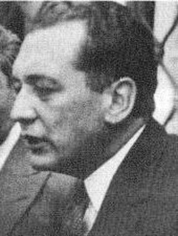 Presidente electo Laureano Gomez Castro