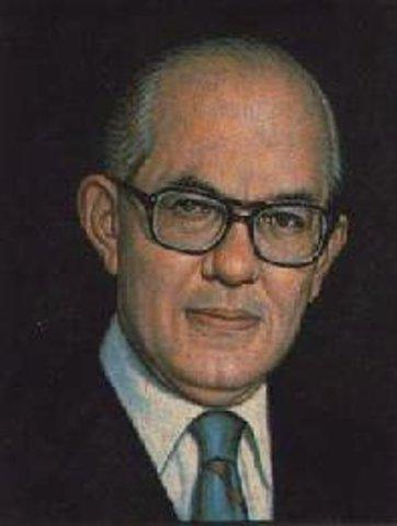 Presidente Electo Alfonso López Michelsen
