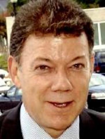 Presidente Electo Juan Manuel Santos Calderon