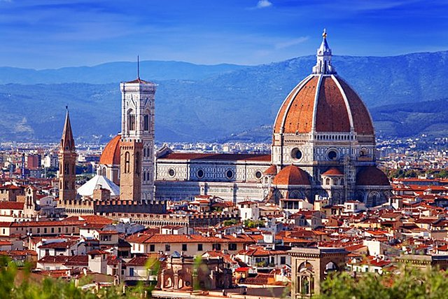 Completion of the Dome for the Duomo